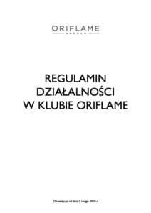 REGULAMIN KLUB ORIFLAME pdf 212x300