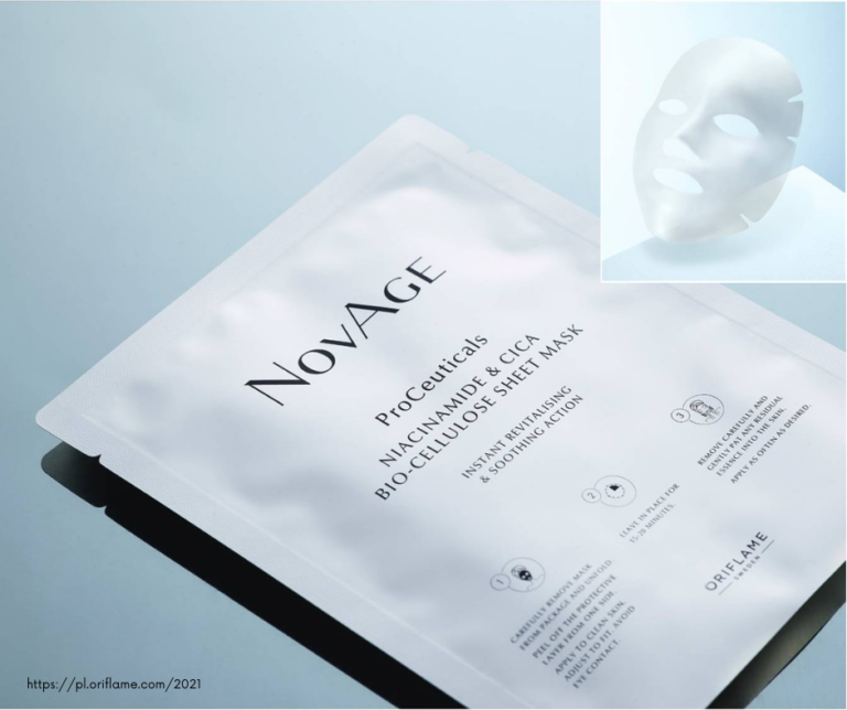 Maseczka w płachcie NovAge